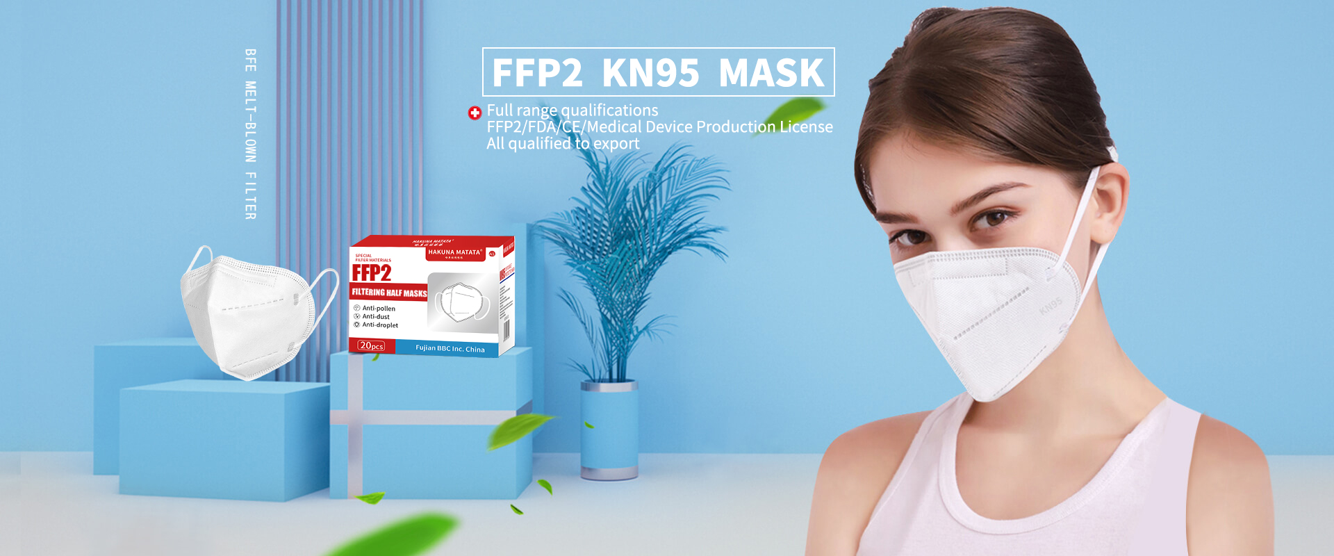 FFP2 Disposable Protective Mask